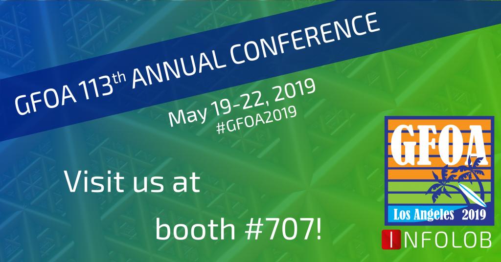 Infolob at GFOA on May 19-22!
