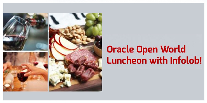 Oracle Open World Luncheon with Infolob