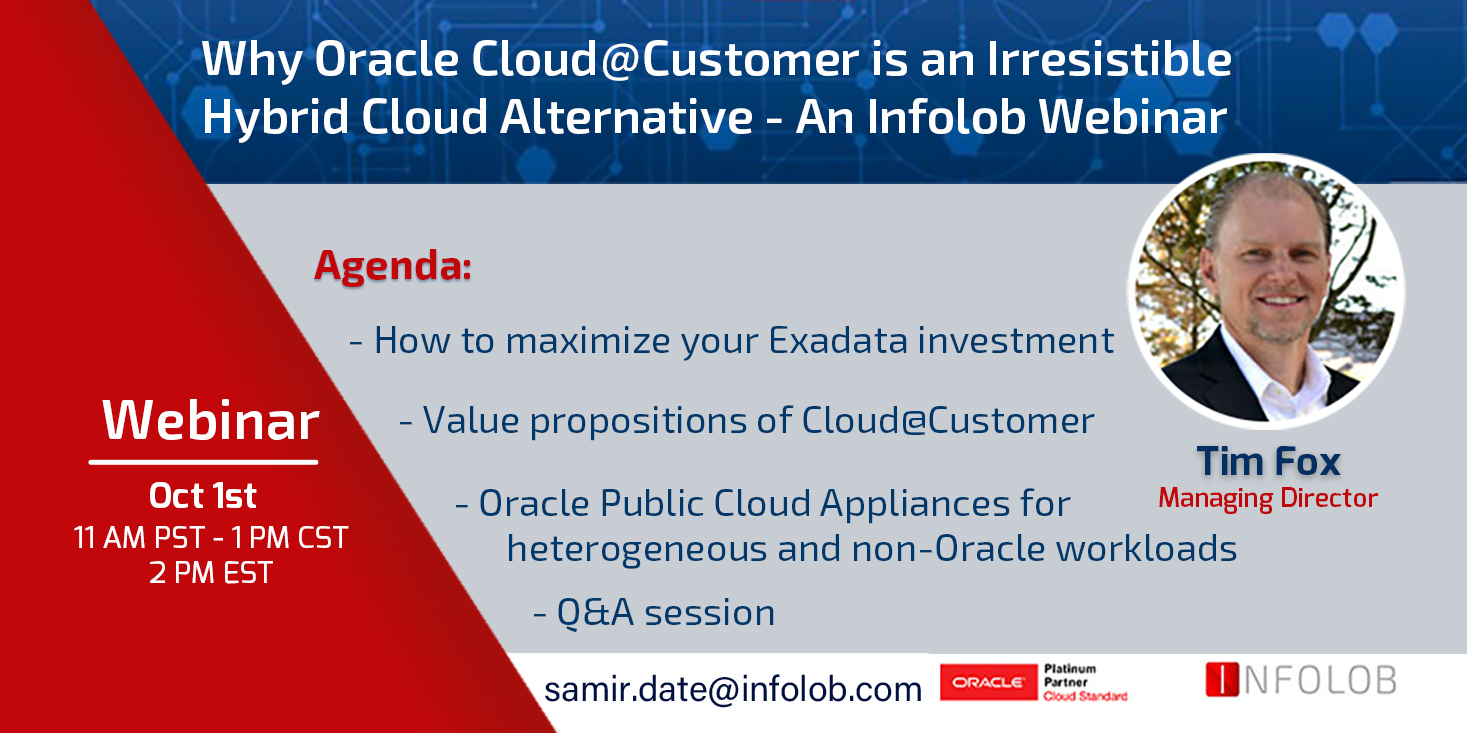 Why Oracle Cloud@Customer is an Irresistible Hybrid Cloud Alternative?