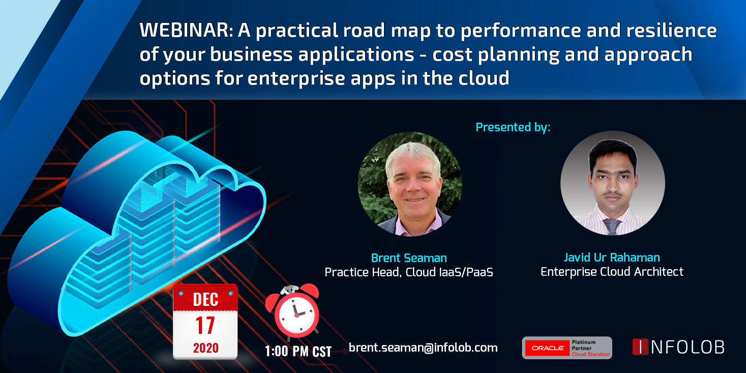 Roadmap of Your Business Applications on Oracle Cloud — 4 Webinar Series Part 1
