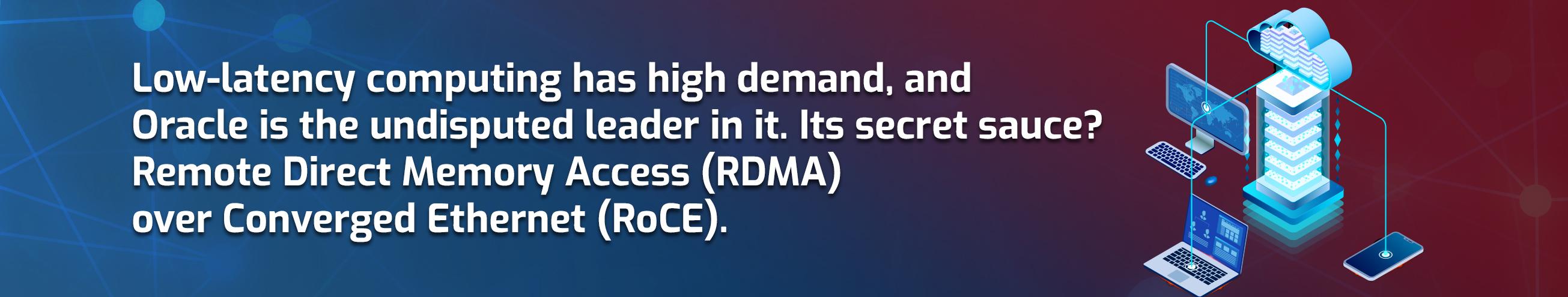 How RDMA Optimizes Oracle Cloud & Exadata Performance
