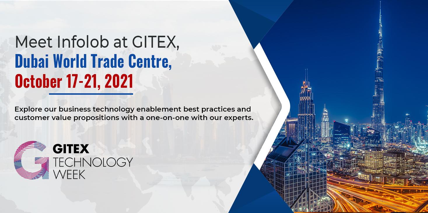 Infolob at GITEX, Dubai, October 17-21, 2021